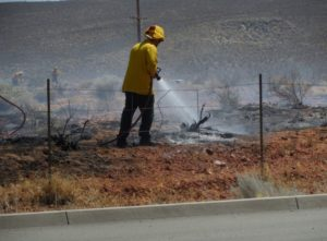 With fire season in full swing in Southern Utah, residents need to exercise extreme caution when working or playing outdoors. Location and date of photo unspecified | Photo by Mike Cole, St. George News