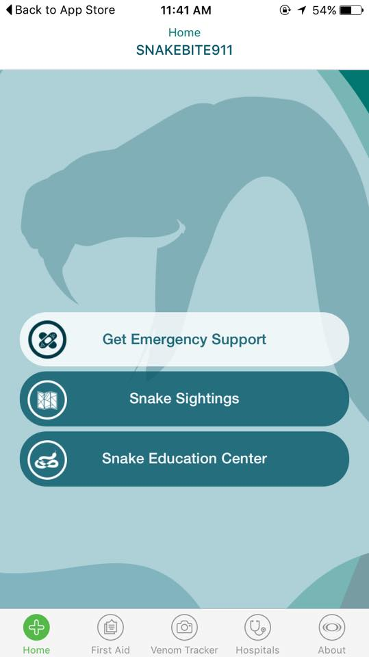 SnakeBite911 app | Photo courtesy of Utah's Rattlesnake Avoidance Facebook page, St. George News