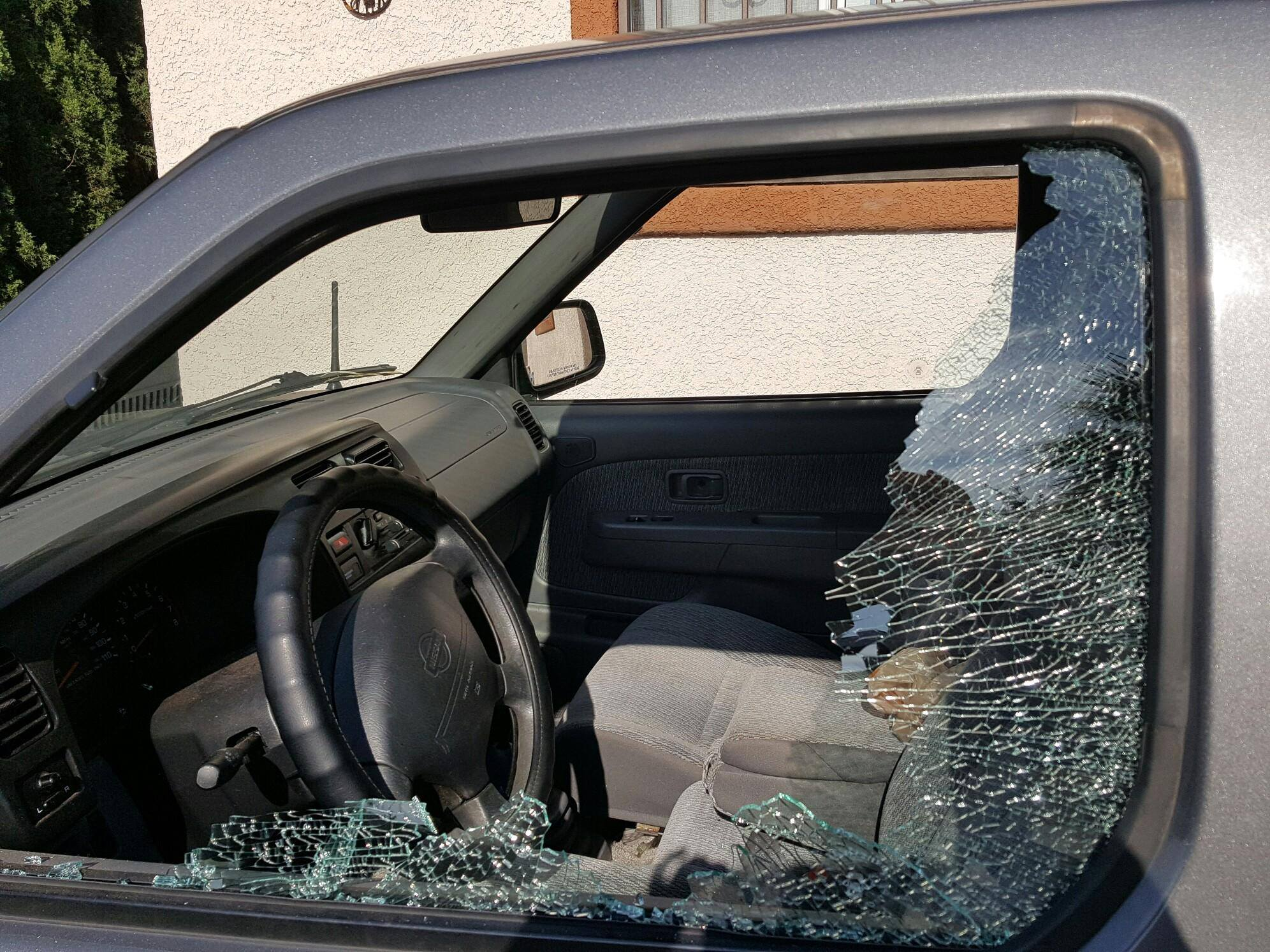 A vandal with a BB gun has been shooting out windows in car in the Santa Clara - Ivins area. Police have identified no suspects yet and are asking the public to keep an eye out for suspiscious activity, Ivins, Utah, June 23, 2016 | Photo courtesy Griselda Pelayo, St. George News