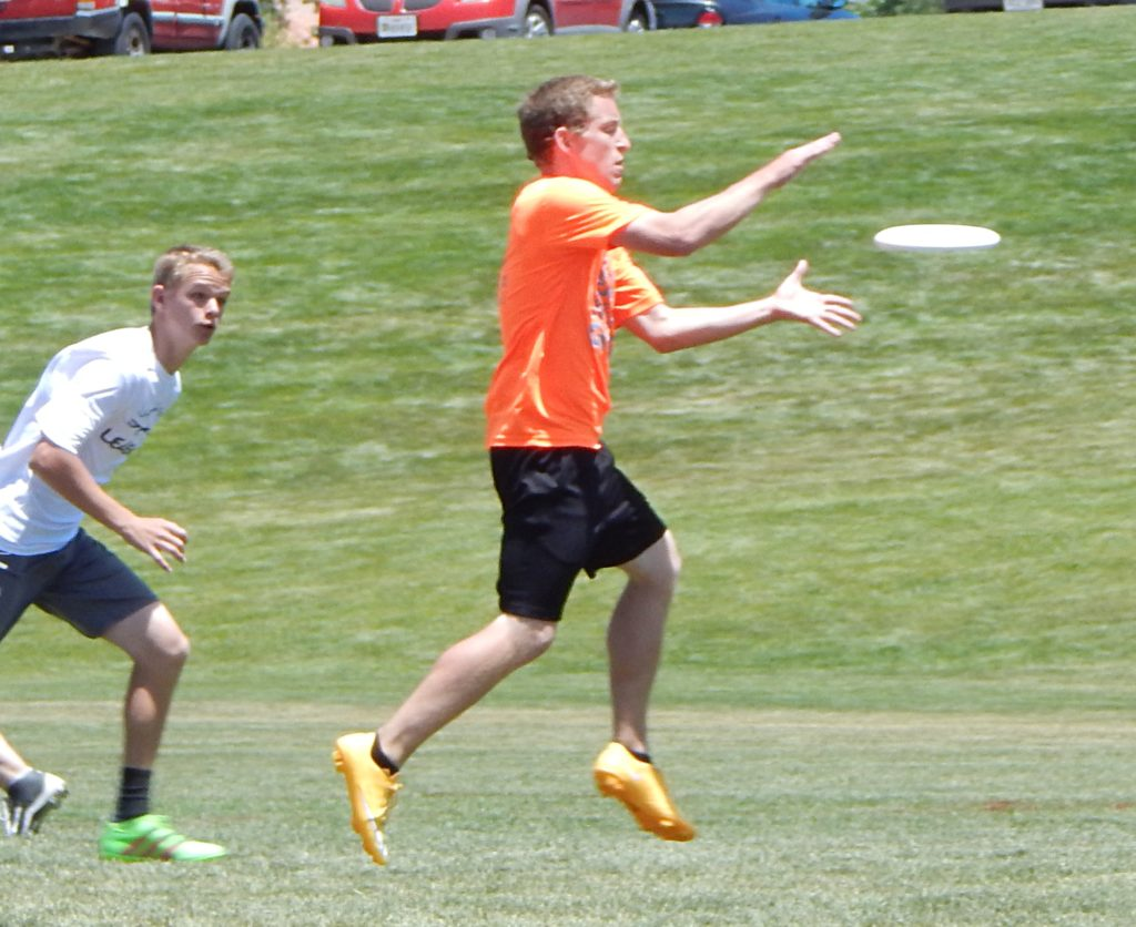 Ultimate Frisbee, Utah Summer Games, Cedar City, Utah, Jun. 18, 2016 | Photo by Shelly Griffin, St. George News