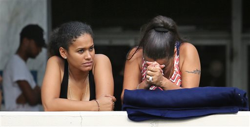 Concerned friends and family of victims at the Pulse nightclub, where multiple fatalities were reported after a shooting, wait outside of the Orlando Police Department, Sunday in Orlando, Florida, June 12, 2016 | Photo by Joe Burbank/Orlando Sentinel via AP; St. George News