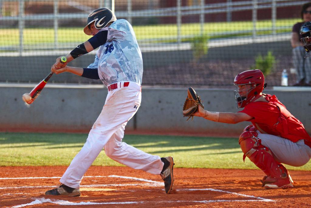 Makai Maclellan (16), SBA vs Sentinels, American Legion Baseball, June 7, 2016, | Photo by Robert Hoppie, ASPpix.com, St. George News