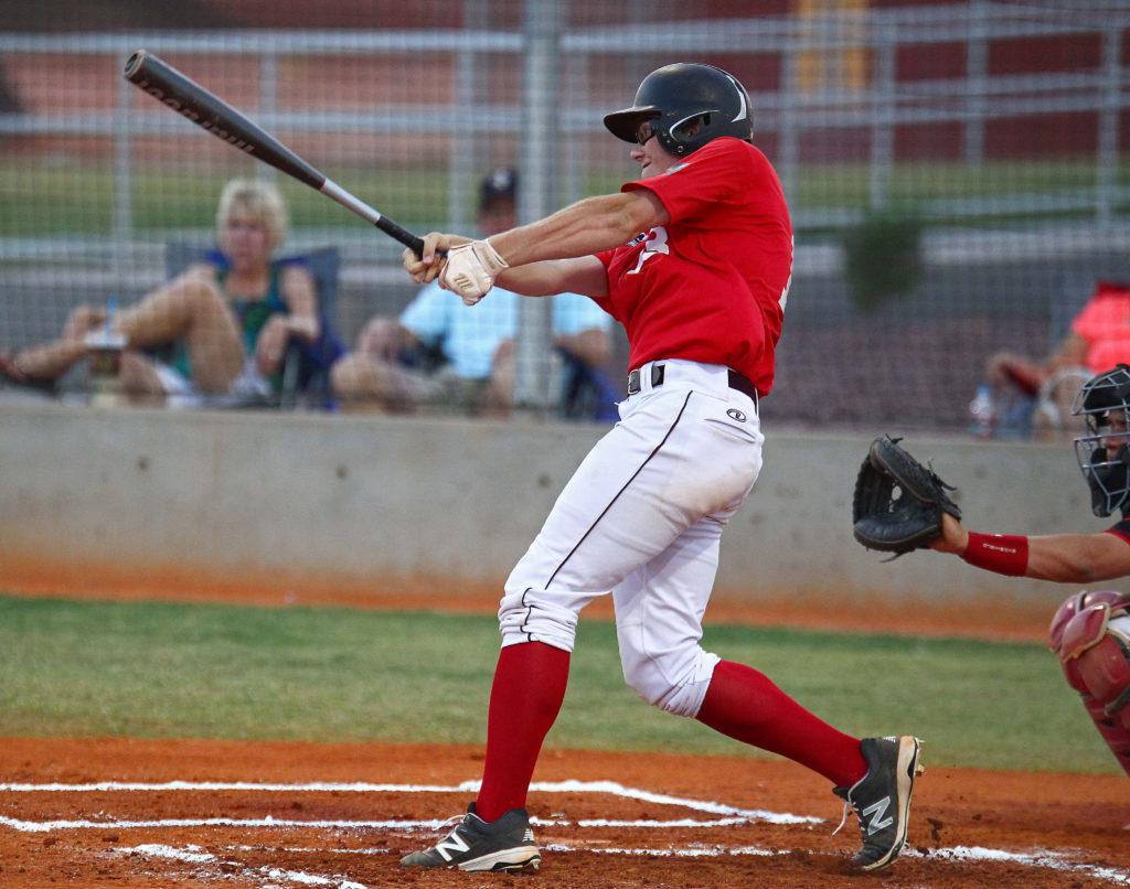 Jarod Stirling (13), St. George Sentinels vs. Idaho Falls, Baseball,  June 24, 2016, | Photo by Robert Hoppie, ASPpix.com, St. George News