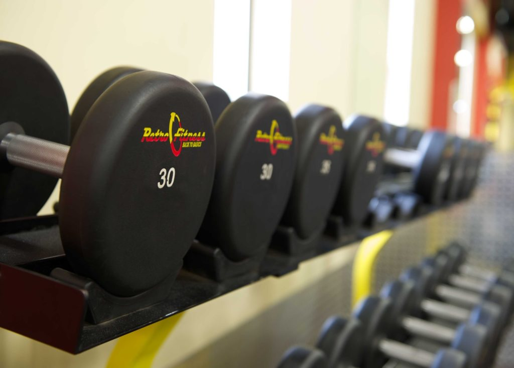 Dumbbells at Retro Fitness, Cedar City, Utah | Photo courtesy of Retro Fitness, Cedar City News / St. George News