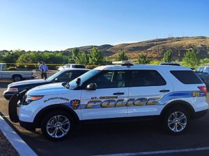 The body of a St. George man was discovered by joggers at Confluence Park, 2099 S. Convention Center Drive, St. George, Utah, June 6, 2016 | Photo by Kimberly Scott, St. George News