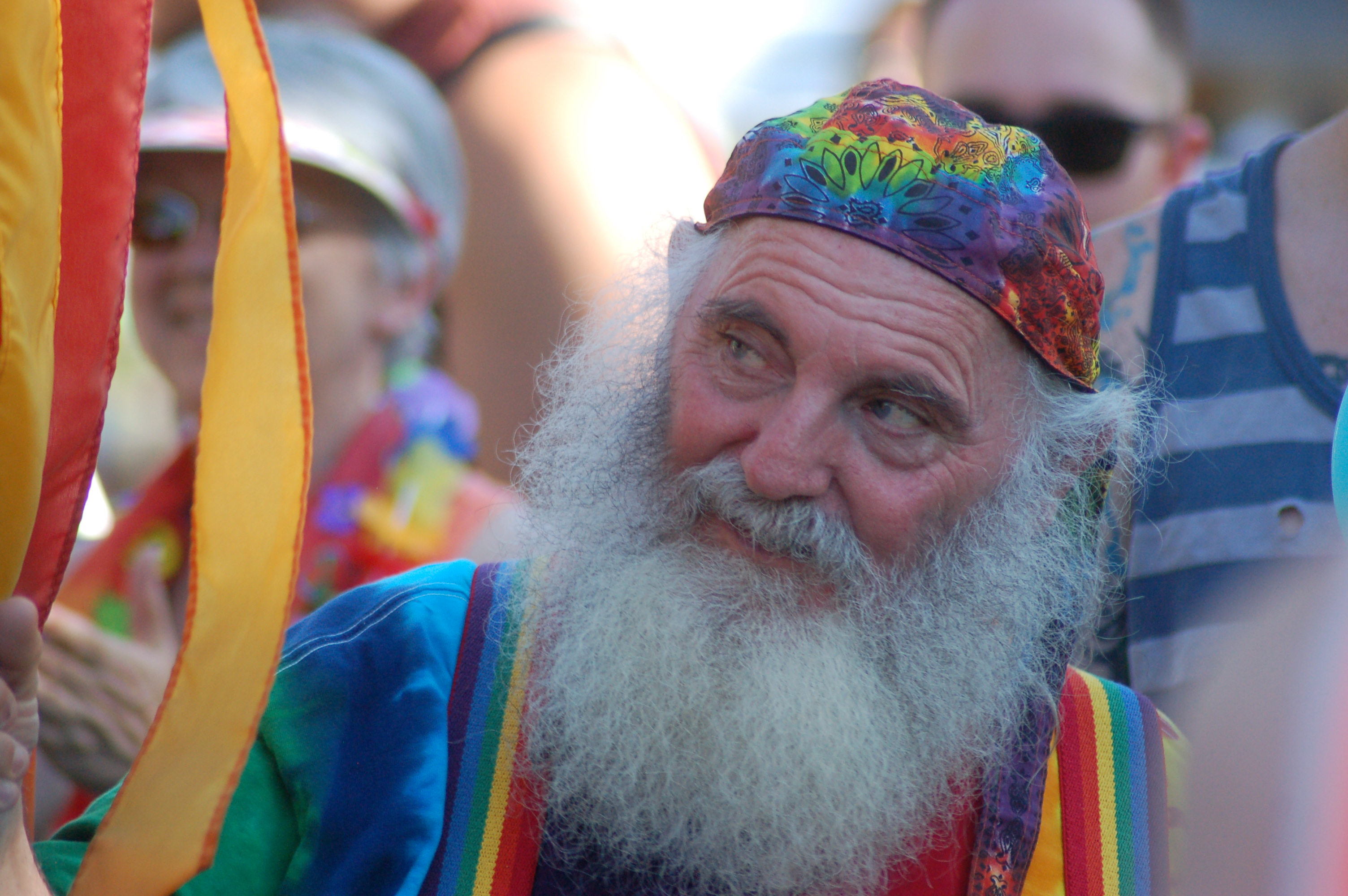 Attendees of the gay pride celebration dressed in rainbow clothing and enjoyed an evening at Vernon Worthen Park, St. George, Utah, June 25, 2016   Photo by Hollie Reina, St. George News