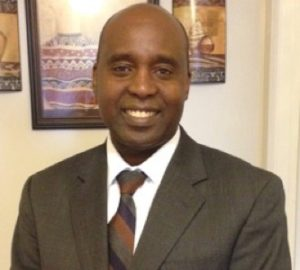 Dr. Peter Gitau, the new Vice President of Student Affaris at DSU, date and location not given   Photo courtesy of Dixie State University, St. George News