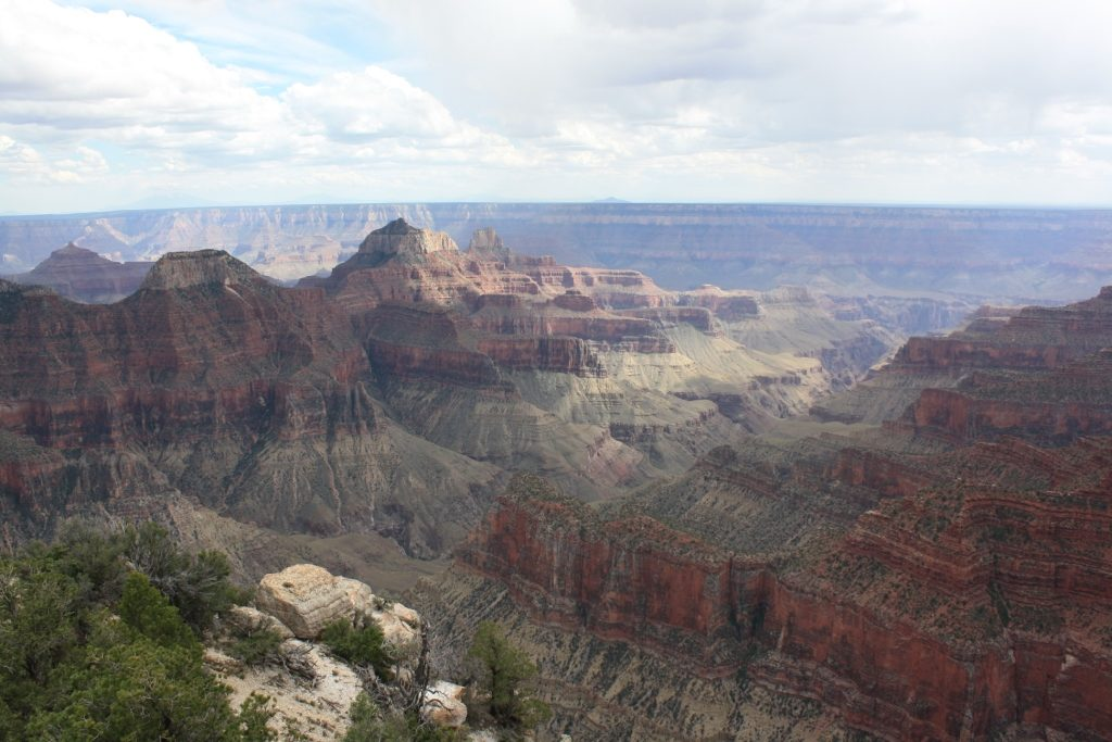 Grand Canyon North Rim from Bright Angel Point, date unspecified | Photo by Reuben Wadsworth, St. George News