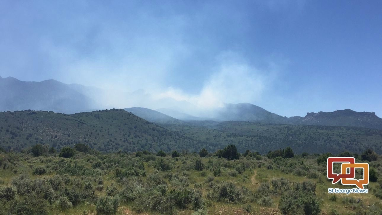 Wildfire on west side of Pine Valley Mountains grows to ...