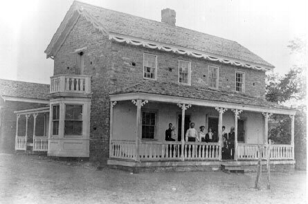 Historic photo of the Parker Isom Home in Virgin, Utah, circa,1900 | Photo courtesy of the Utah State Historic Society, St. George News