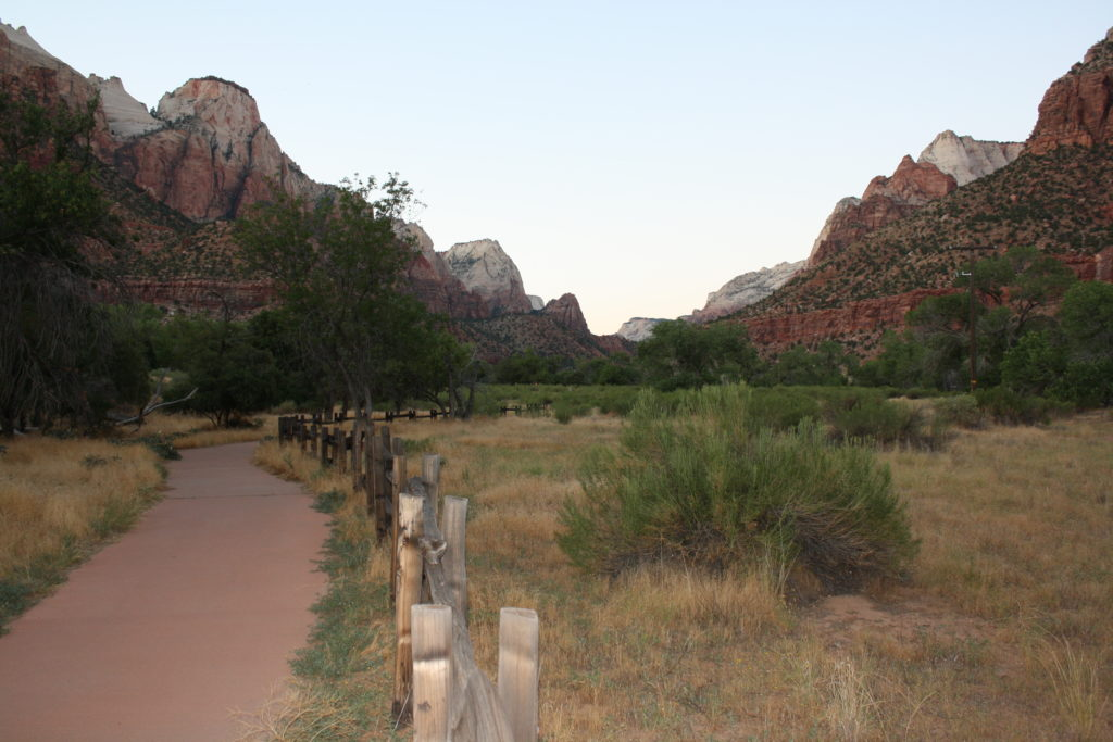 Pa'rus Trail, Zion National Park, Utah, date unspecified   Photo by Reuben Wadsworth, St. George News