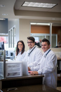 Staff at a Grifols Plasma Donation Center are pictured here. Location and date not specified | Photo courtesy of Grifols Plasma, Cedar City News