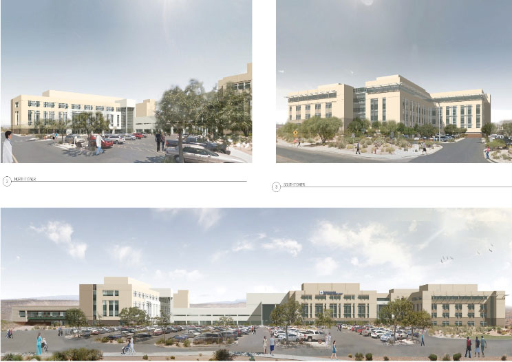 Renderings of expansion of Dixie Regional Medical Center | Photo courtesy of Intermountain Healthcare, St. George News
