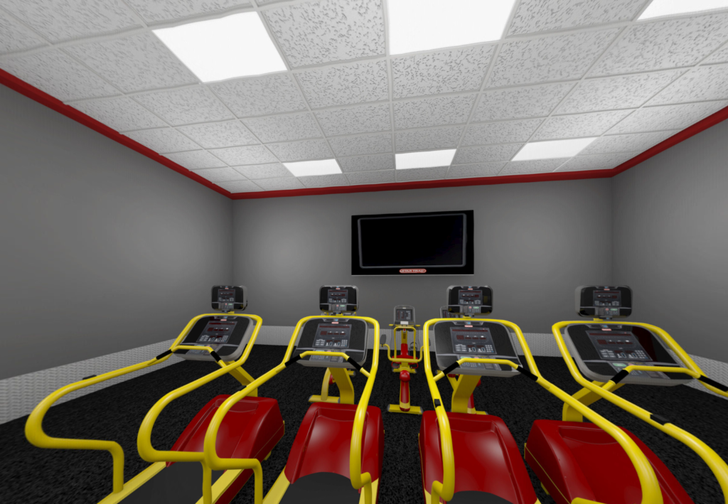 Cardio theater at Retro Fitness, Cedar City, Utah | Photo courtesy of Retro Fitness, Cedar City News / St. George News