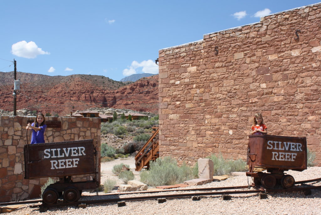 Silver Reef mine car photo op, Leeds, Utah, date unspecified | Photo by Reuben Wadsworth, St. George News