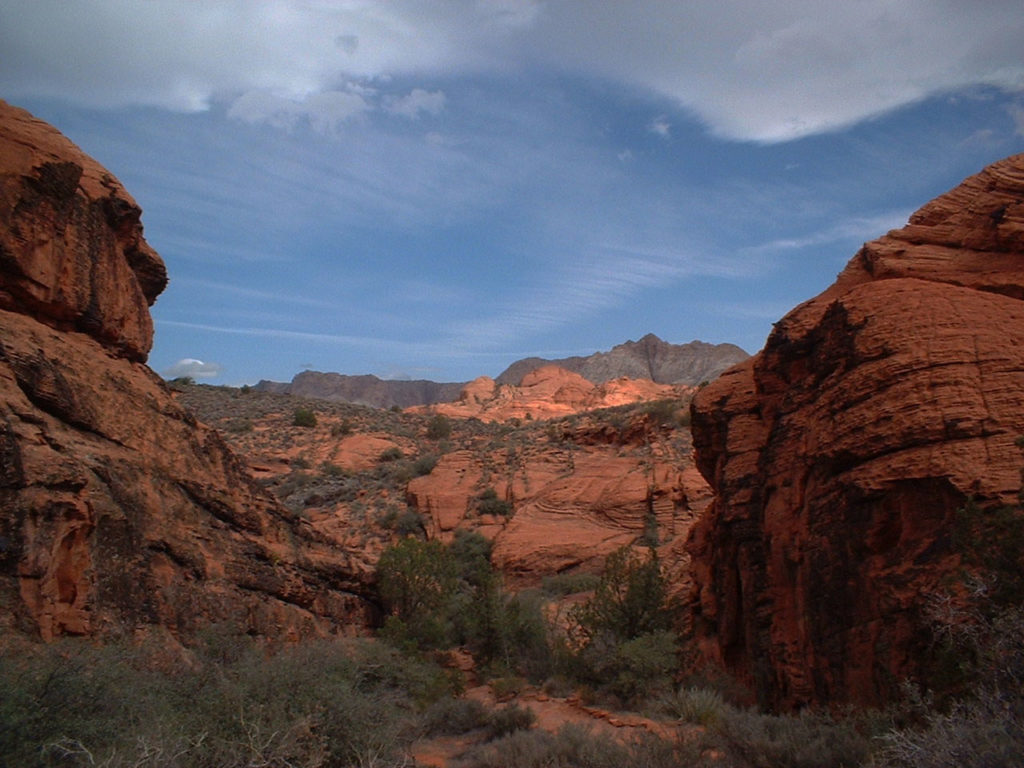 Red Mountain and Snow Canyon, date unspecified   Photo courtesy of Conserve Southwest Utah, St. George News