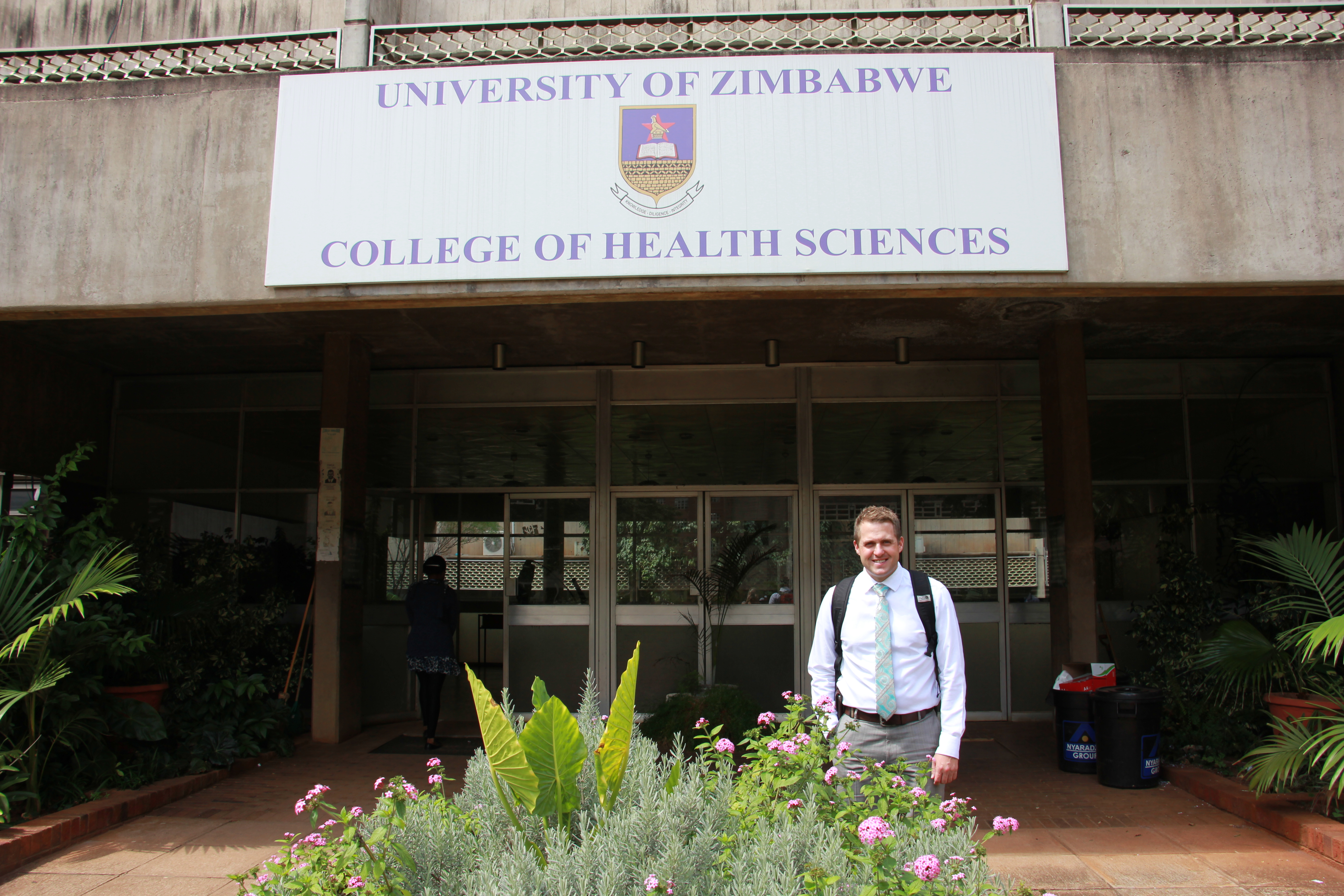 Dr. Snow Slade recently returned from a humanitarian medical mission in Harare, Zimbabwe, date not specified   Photo courtesy of Snow Slade, St. George News
