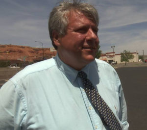 Varlo Davenport after a hearing at which Judge Karlin Myers ordered Dixie State University to turn over emails relating to his case, St. George, Utah, June 10, 2016 | Photo by Sheldon Demke, St. George News