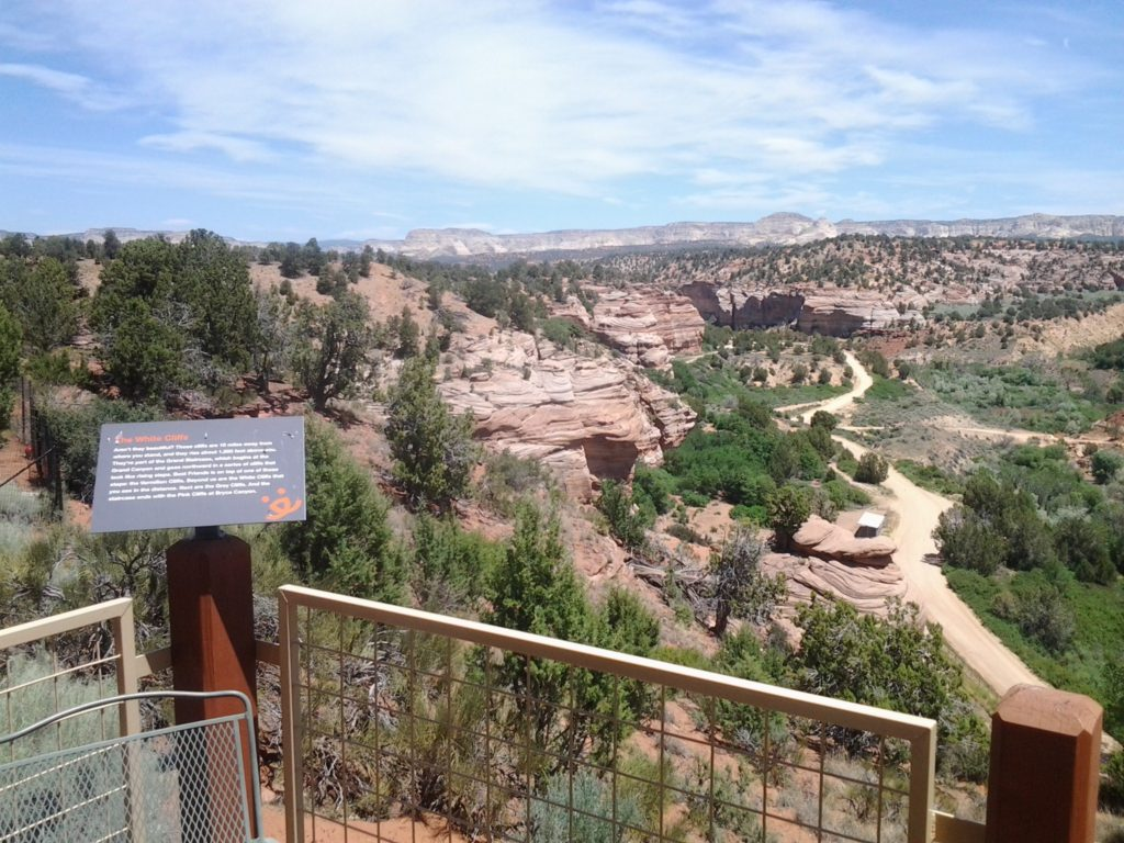 View of Angel Canyon and Grand Staircase from Best Friends' Angel Village | Photo by Reuben Wadsworth, St. George News