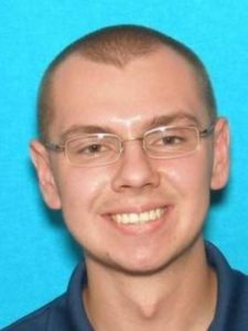 Nicholas Scott Anthony, 23, of Cedar City, Utah | Photo courtesy of the Iron County Sheriff's Office, St. George/Cedar City News