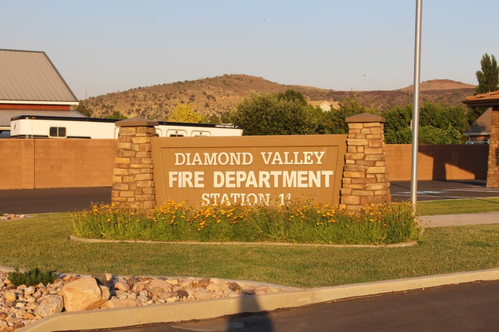 Diamond Valley Fire Station, 1651 W. Diamond Valley Drive, Diamond Valley, Utah, June 24, 2016 | Photo by Cody Blowers, St. George News