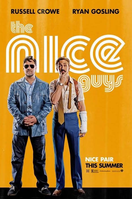 """Movie poster for """"The Nice Guys"""" 