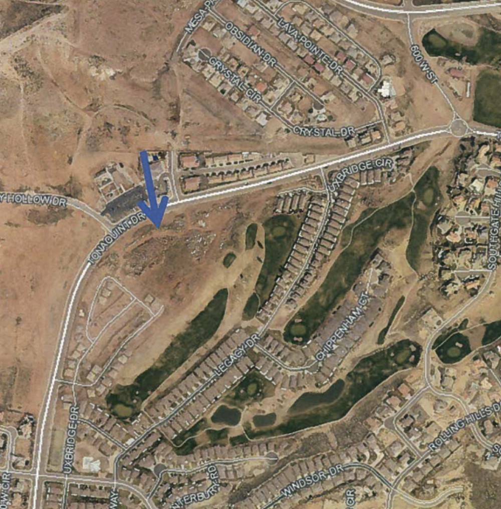 General location of the The Joshuas at Southgate development. | Image courtesy of the City of St. George, St. George News