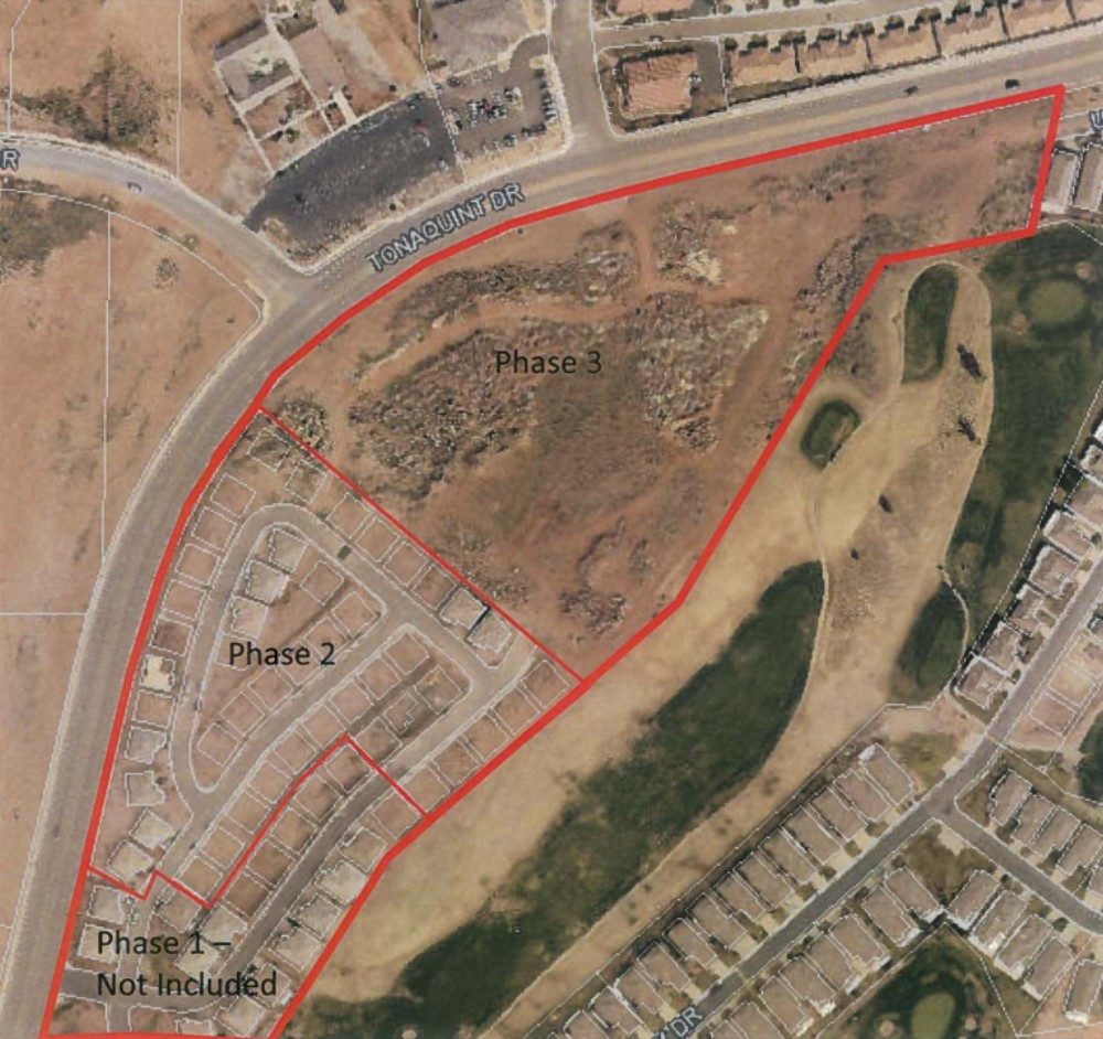 General area of the The Joshuas at Southgate development. | Image courtesy of the City of St. George, St. George News