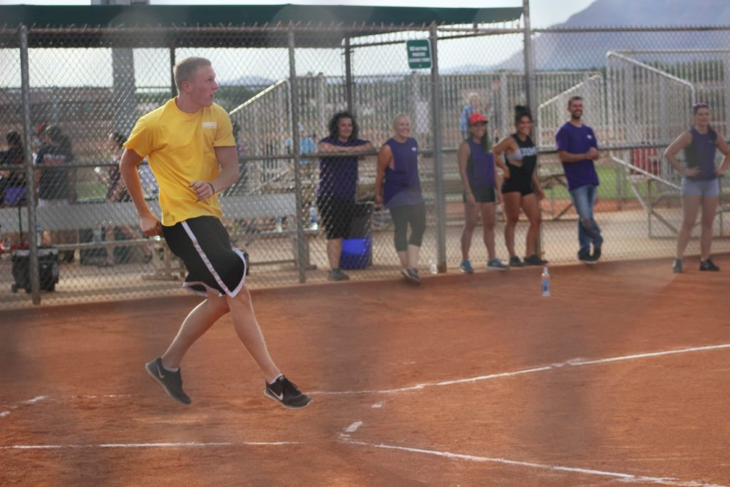 Kickball With Cops event hosted by the Santa Clara-Ivins Police Department, Santa Clara, Utah, June 10, 2016 | Photo by Mori Kessler, St. George News