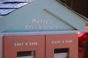 """Maddy Free Library,"" offers a free book exchange for young readers who want to ""take a book, leave a book,"" St. George, Utah, June 10, 2016 