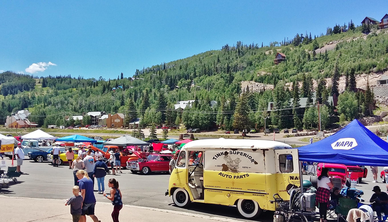Brian Head Resort Car Show Saturday, Brian Head Town, Utah, July 23, 2016 | Photo by Sara Winn courtesy of Annabel Curtis, St. George News