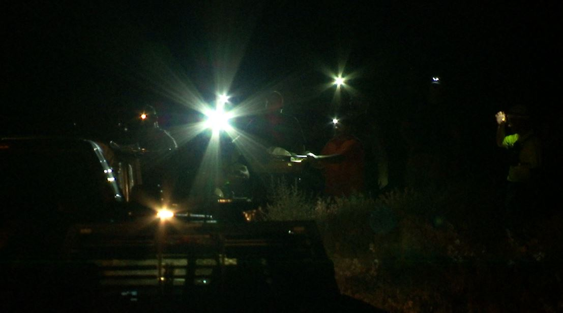 The body of a 15-year-old boy was recovered in the area of 1100 S. 100 West at approximately after he fell approximately 200 feet off a cliff where he and an adult family member had been hiking. Hurricane, Utah, July 3, 2016   Photo by Kimberly Scott, St. George News