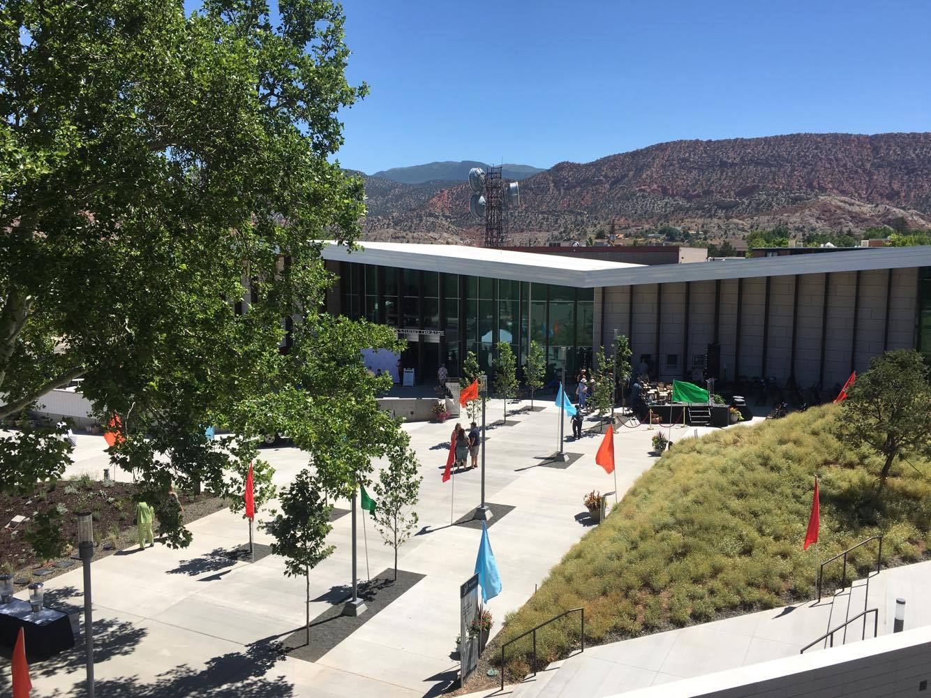 Views of the Eileen and Allen Anes Studio Theatre which is part of the new Beverley Taylor Sorenson Center for the Arts located on the Southern Utah University campus, Cedar City, Utah, July 7, 201 | Photo by Hollie Reina, Cedar City News