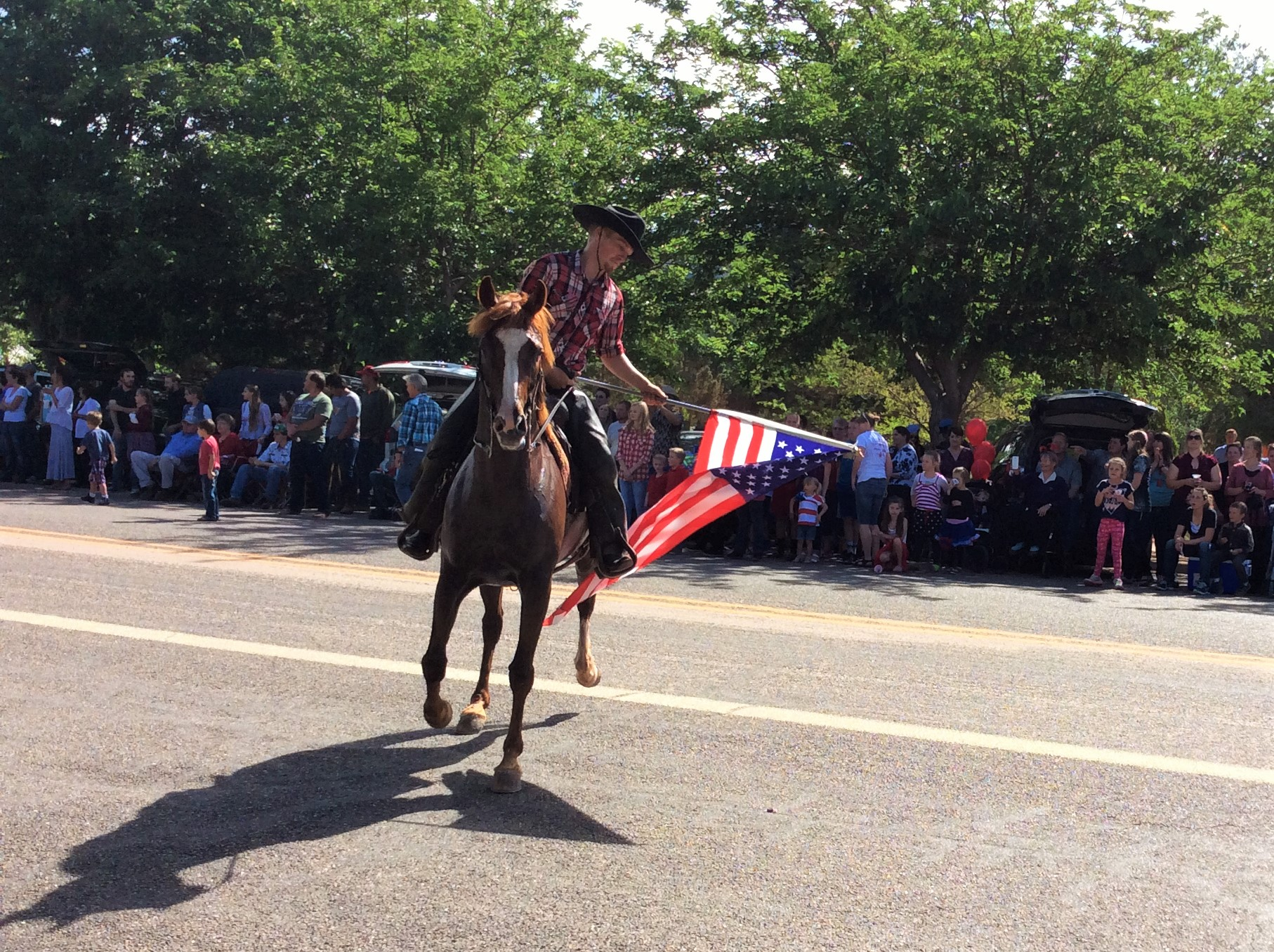 Independence Day parade, Colorado City, Arizona, July 2, 2016 | Photo by Cami Cox Jim, St. George News