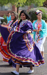 Members of the Dixie Hispanic Student Association participating in the 2015 DSU Homecoming Parade, St. George, Utah, September 28, 2015   Photo courtesy of Dixie State University Student Association, St. George News