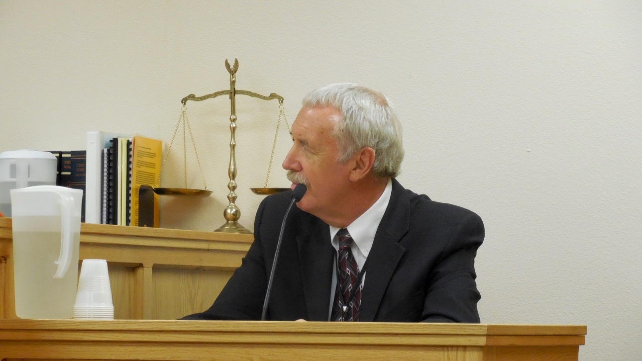 Dixie State University Public Safety Director Don Reid testifies at Varlo Davenport's jury trial Thursday, St. George, Utah, July 14, 2016 | Photo by Julie Applegate, St. George News