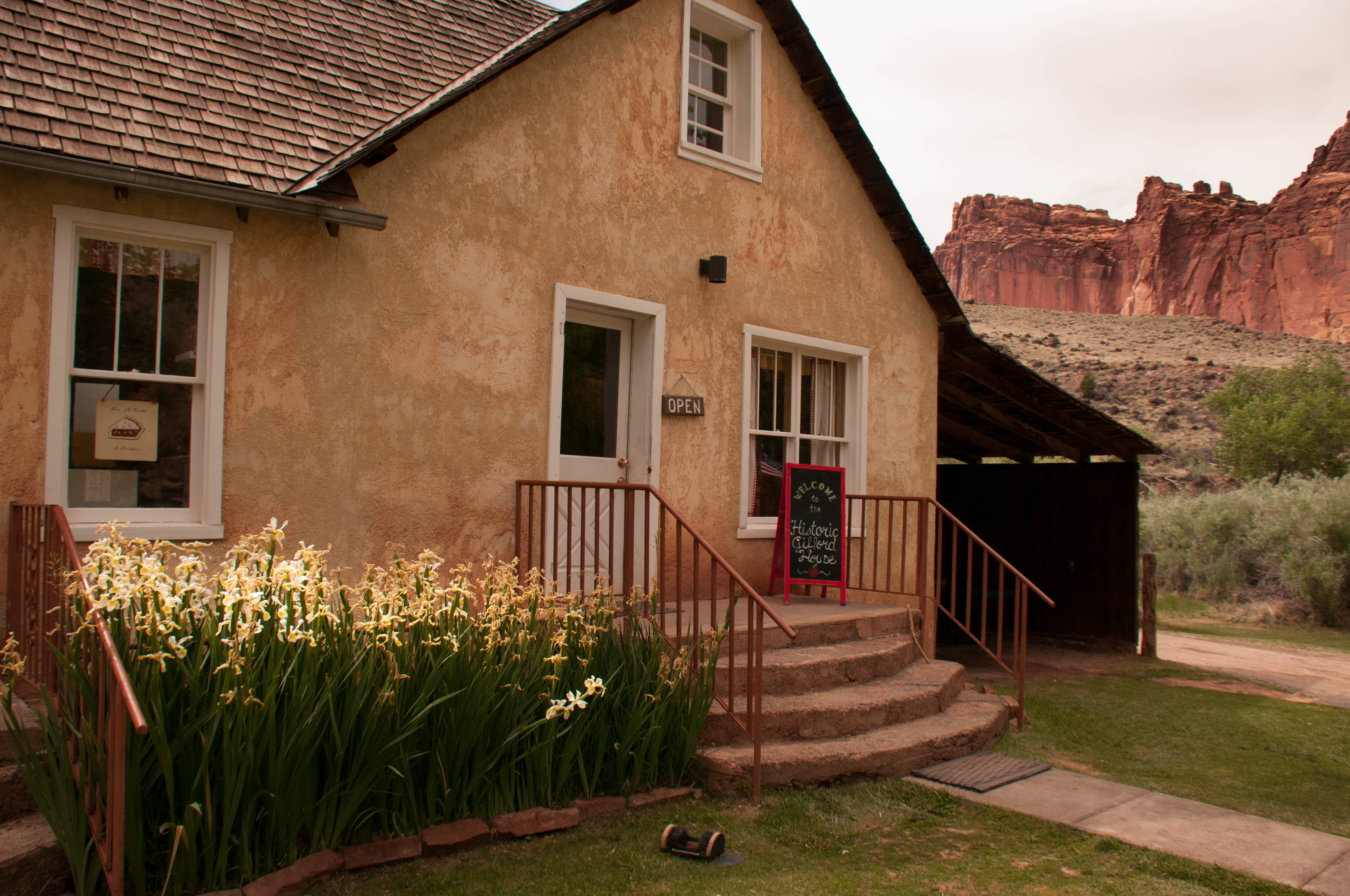 Gifford House and Museum, Fruita, Capitol Reef National Park, Utah, June 2016 | Photo by Jim Lillywhite, St. George News