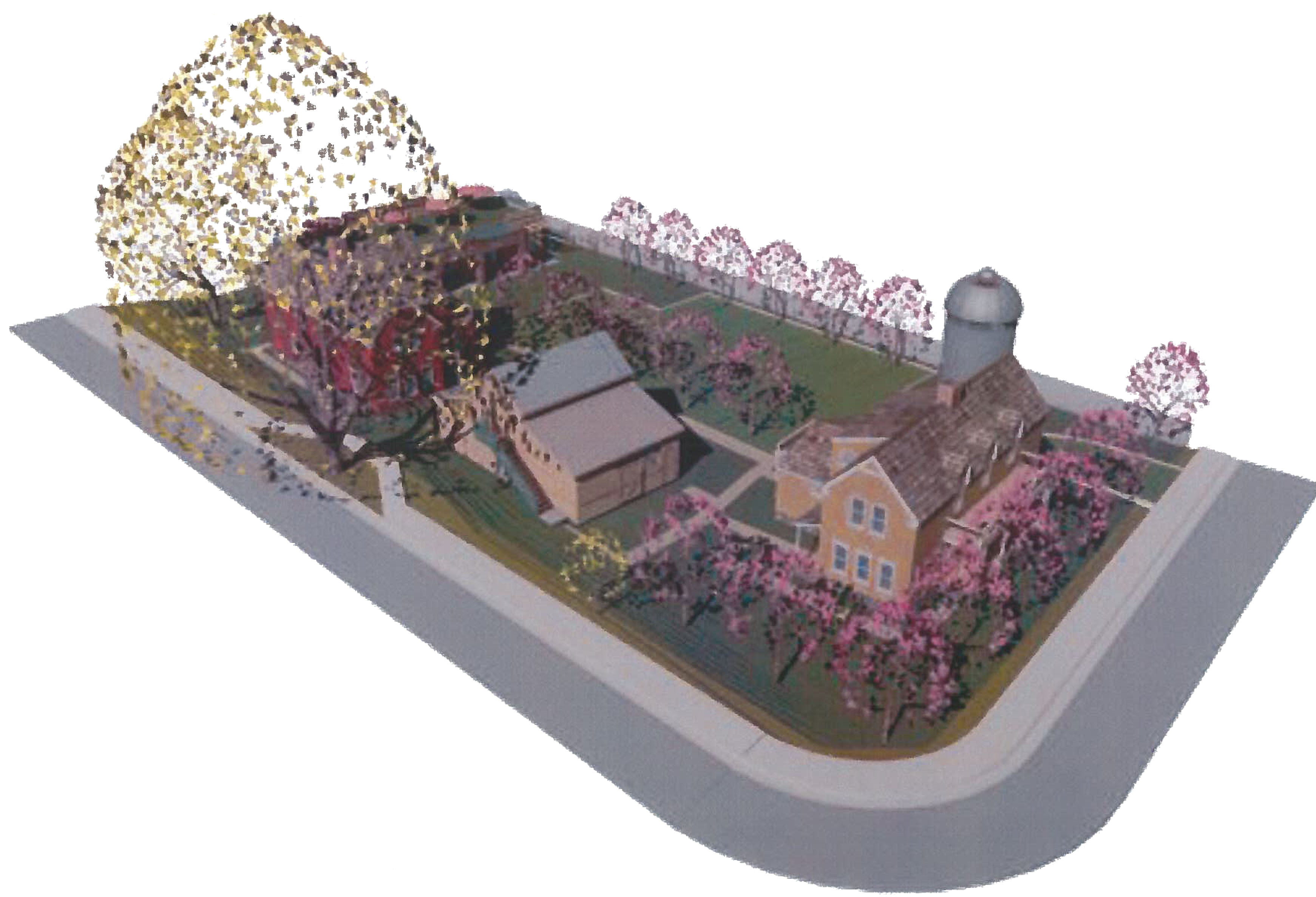Architectural drawing of a proposed inn in Santa Clara   Image courtesy of Santa Clara City