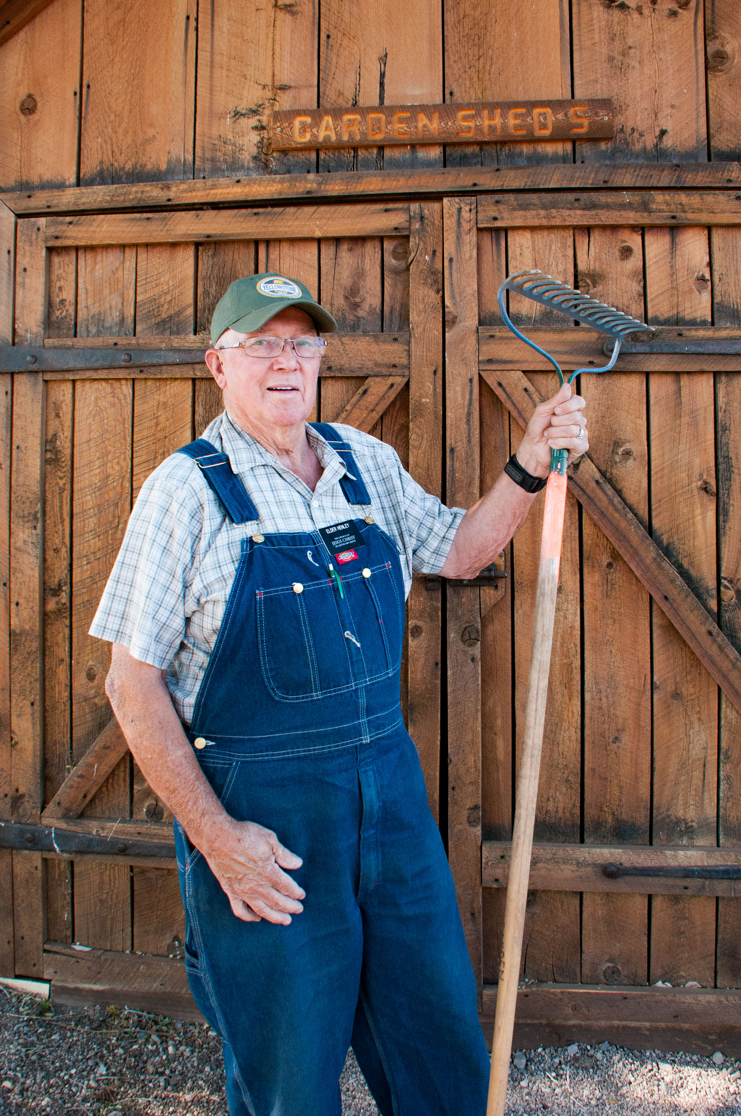 J.D. Henley, a volunteer at Cove Fort Historical Site, Millard County, Utah, June 25, 2016   Photo by Kathleen Lillywhite, St. George News