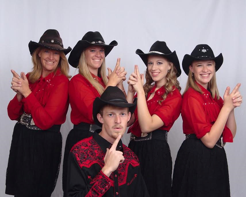 Mama's Wranglers performing group poses for a promotional photo, location and date not specified | Photo courtesy of Mama's Wranglers, St. George News