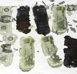 Some of the cash found in 1980 that was traced back to D.B. Cooper | Licensed under Creative Commons CC0, St. George News
