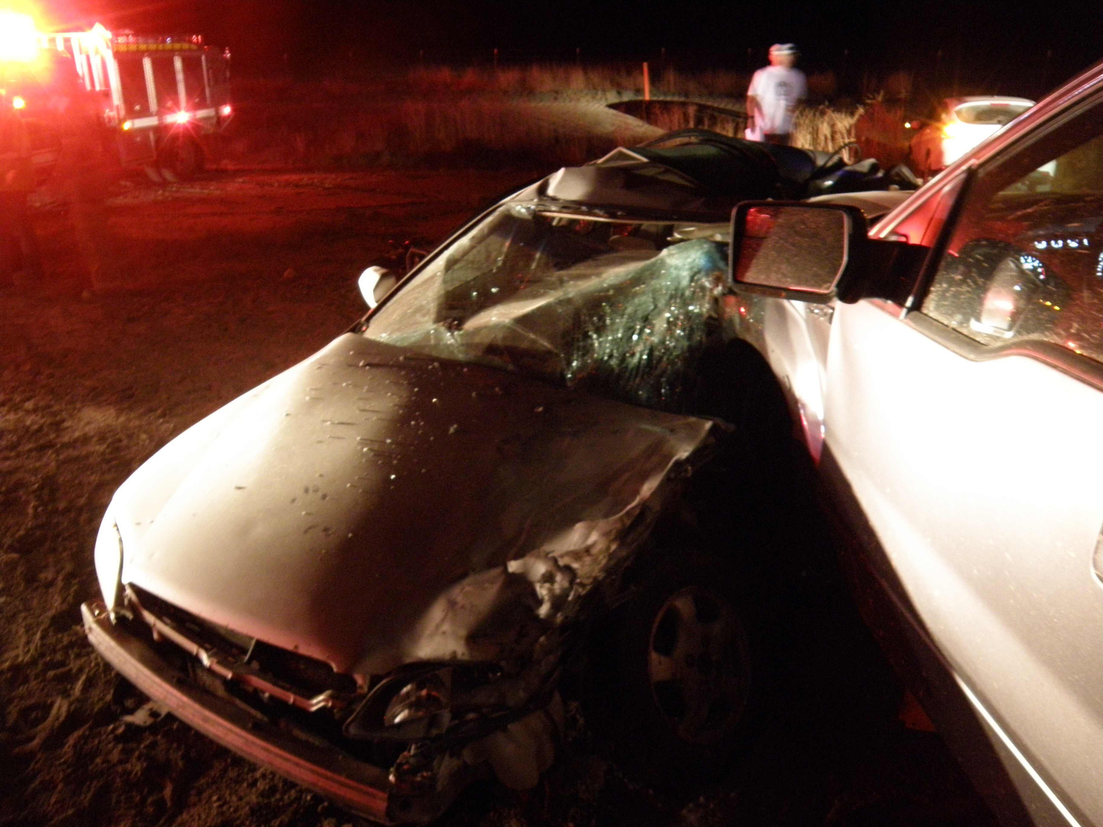 A 23-year-old woman died over the 4th of July weekend during a four-vehicle collision on State Route 6 near milepost 298, Green River, Utah, July 1, 2016 | Photo courtesy of Utah Highway Patrol, St. George News