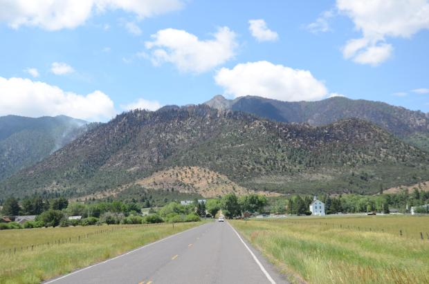 Fire burn pattern on Saddle Mountain in the Pine Valley Wilderness of the Dixie National Forest, Washington County, Utah, July 3, 2016 | Photo courtesy of NIMO, St. George News