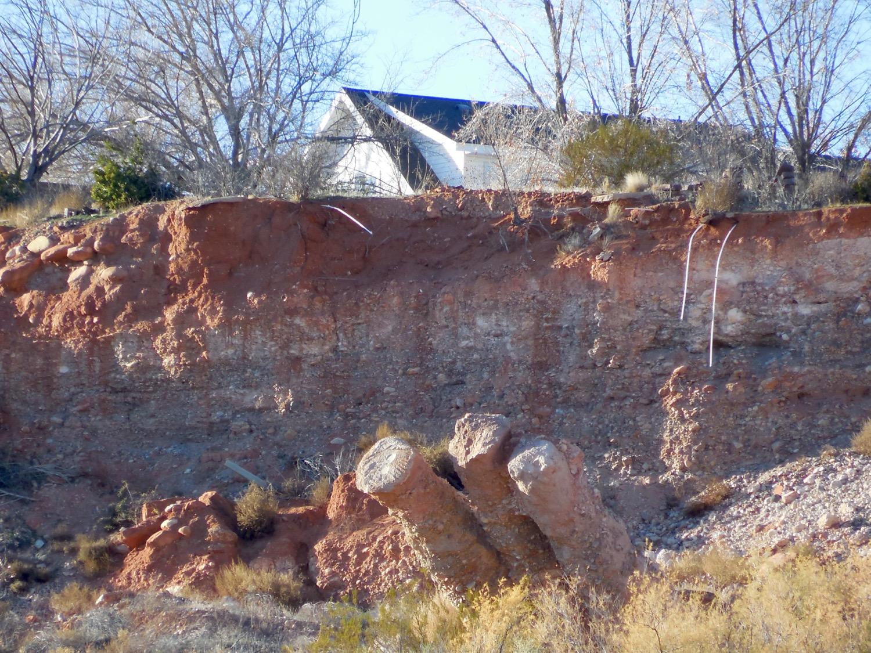 A slow-moving landslide in Santa Clara destroyed homes and forced the closure of Truman Drive, Santa Clara, Utah, Dec. 23, 2015 | Photo by Julie Applegate, St.