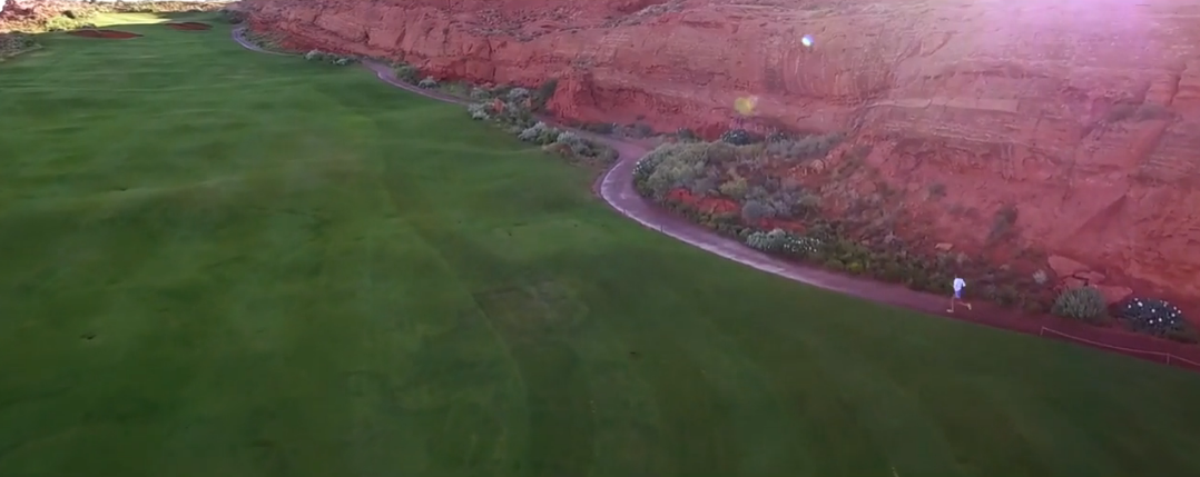 This screenshot is taken from promotional video for the 2016 Hurricane Half Marathon scheduled for Sept. 17, when runners will follow the course through Sand Hollow Resort and along Sand Hollow Reservoir in Hurricane, Utah. Full video included top of this July 23 St. George News report.| Photo courtesy of HHM, St. George News