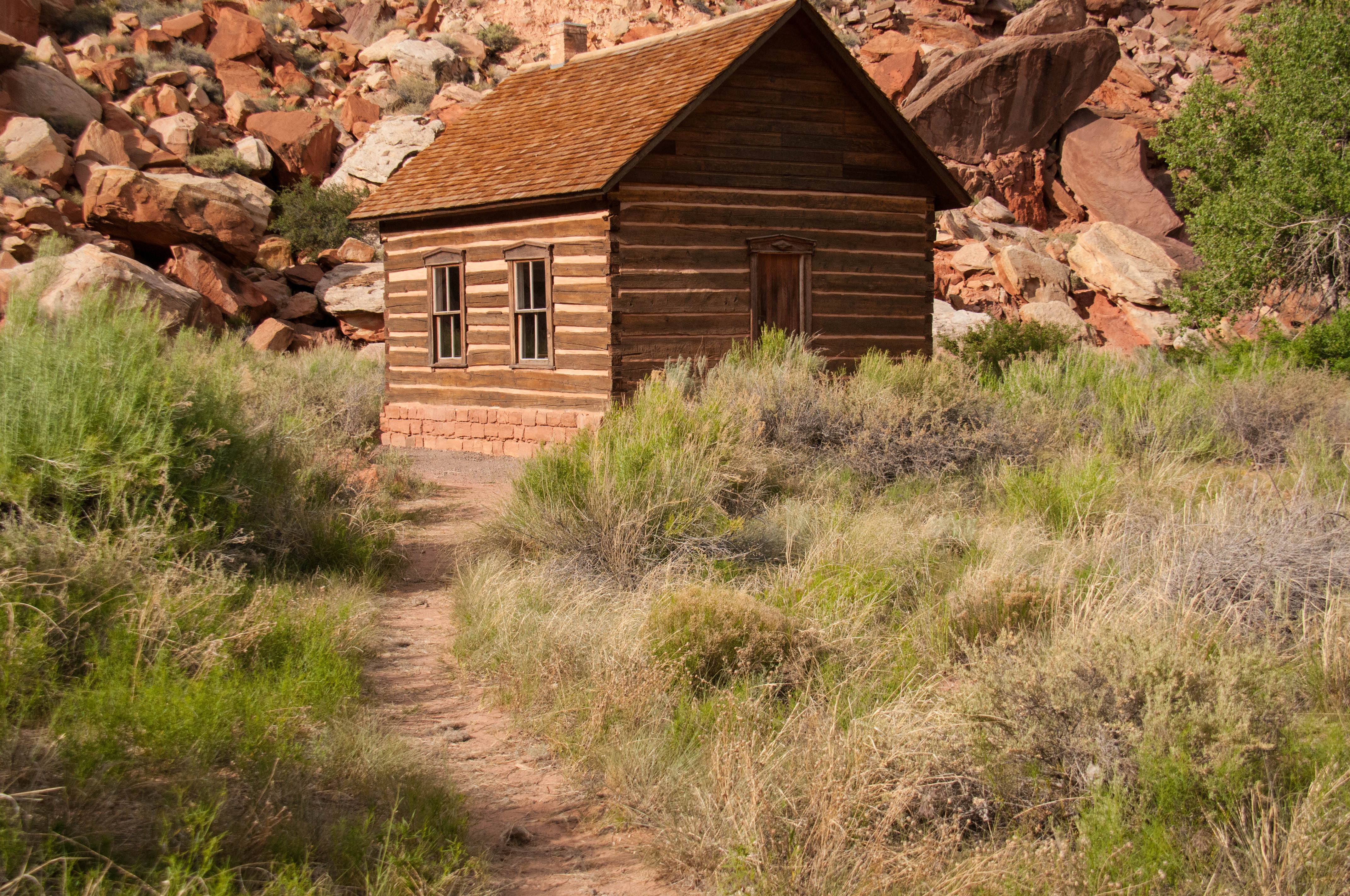 The Mormon school house, Fruita, Capitol Reef National Park, Utah, June 2016 | Photo by Jim Lillywhite, St. George News
