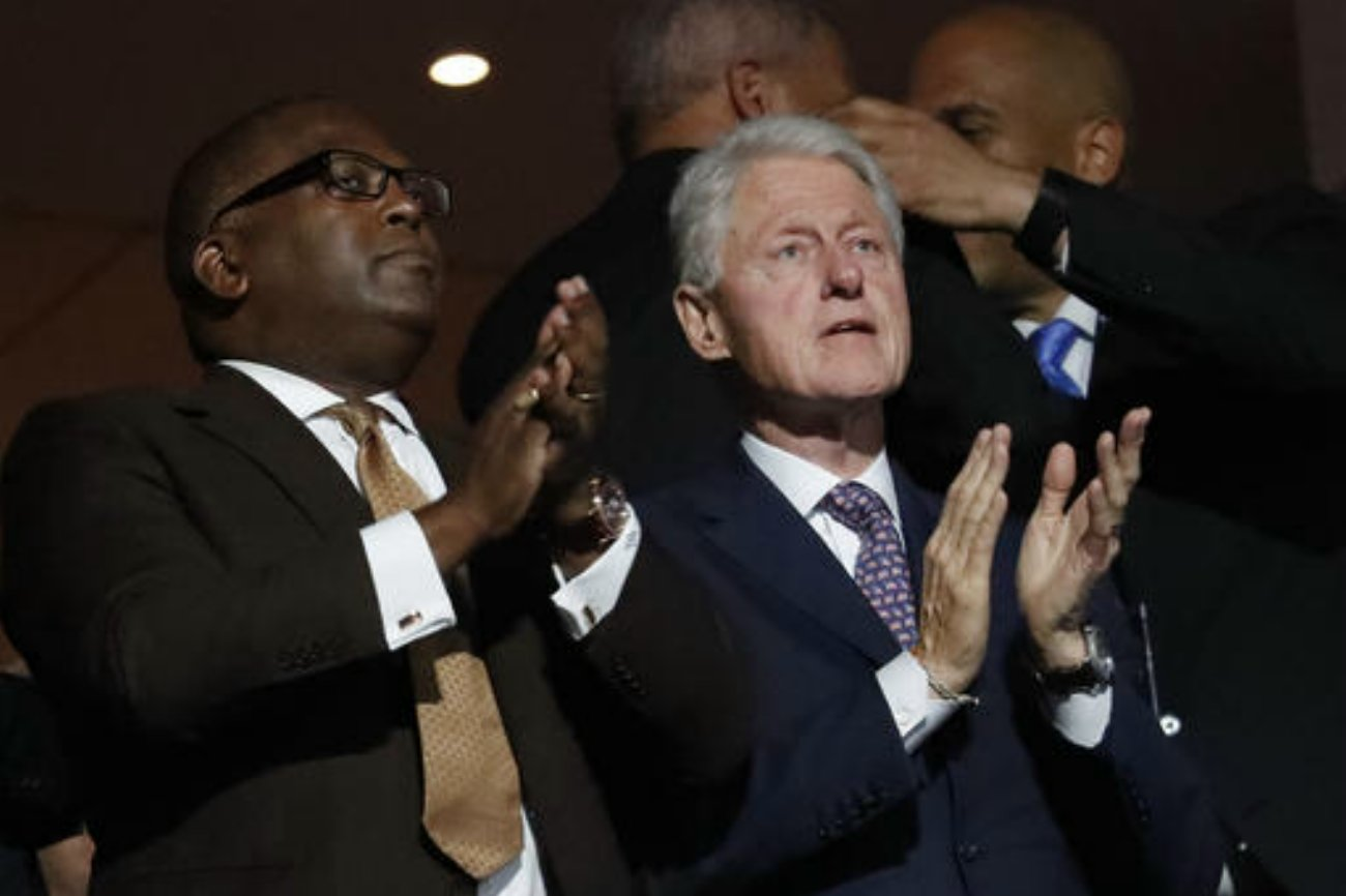 First Lady Michelle Obama takes the stage during the first day of the Democratic National Convention in Philadelphia, Pennsylvania, July 25, 2016 | AP Photo by Paul Sancya courtesy of The Associated Press, St. George News
