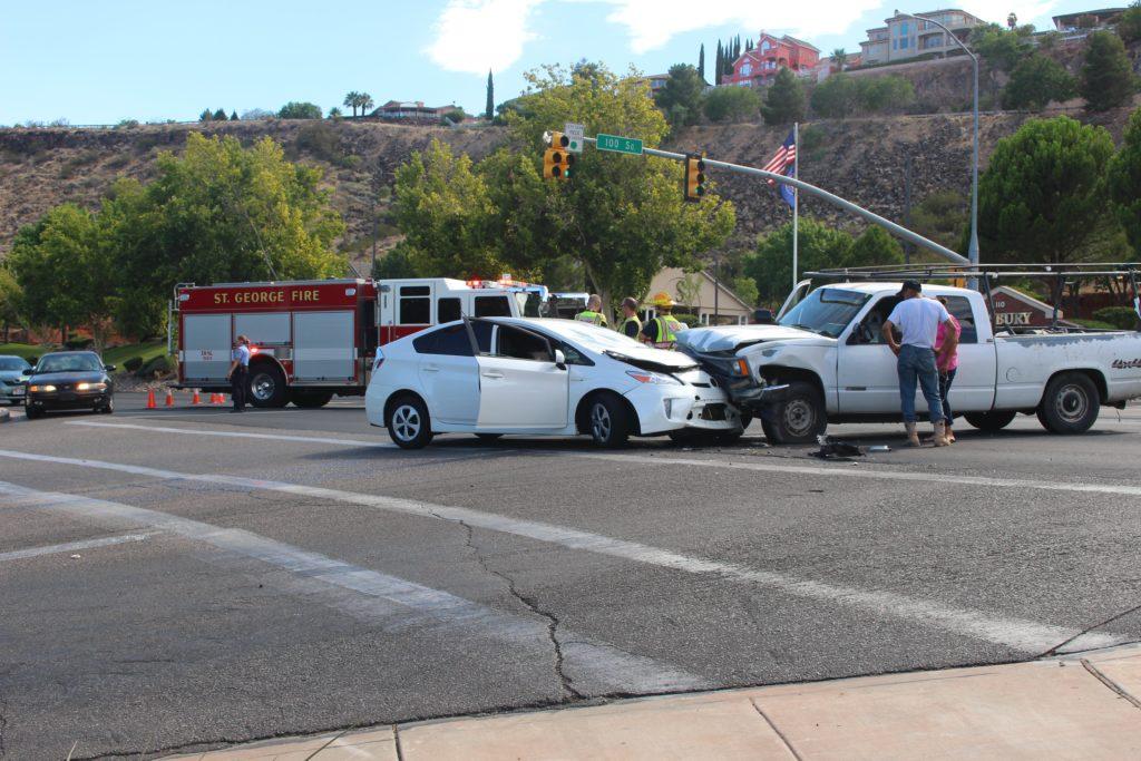 Crash Leaves 1 Injured After Unlicensed Driver Fails To