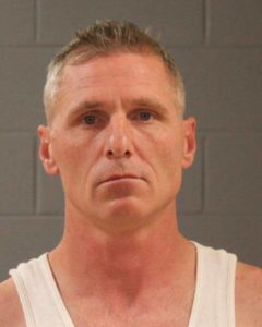 Anthony Blymyer apprehended by VFAST on $2 million warrant out of California, St. George, Utah, July 19, 2016   Photo courtesy of the Washington County Sheriff's Office