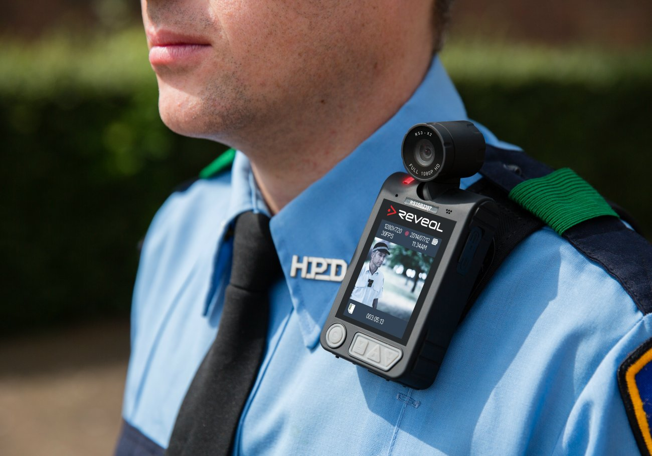 An example of the body-worn cameras produced by Reveal. The St. George Police Department will be receiving 75 of these cameras following the City Council's approval to purchase them for $80,000, photo taken Jan. 6, 2015, location unknown | Photo courtesy of Reveal Media, St. George News
